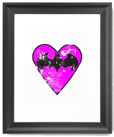 i-love-batgirl-framed-prints