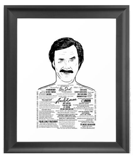 anchorman framed