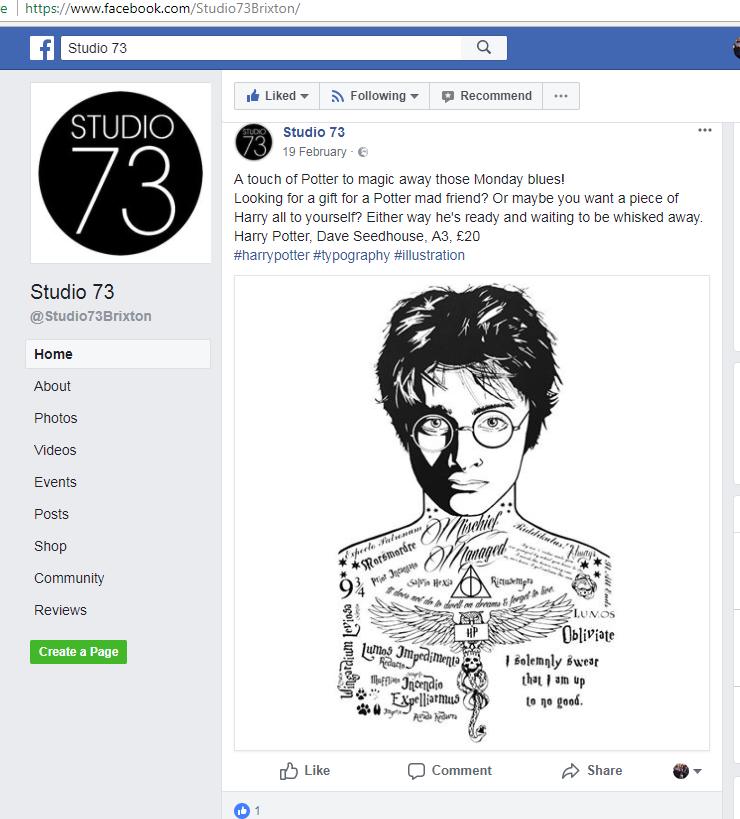 studio73 FB ad.fw